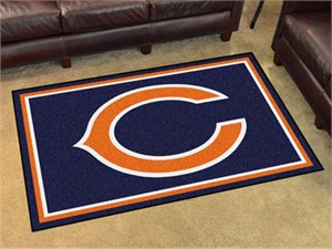Chicago Bears Floor Rug - 4x6