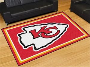 Kansas City Chiefs Floor Rug - 5x8