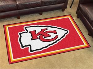 Kansas City Chiefs Floor Rug - 4x6