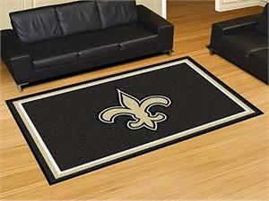 New Orleans Saints Floor Rug - 5x8