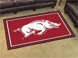 University of Arkansas Floor Rug - 4x6