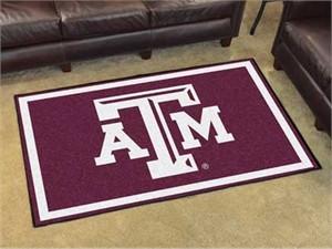 Texas A&M University Floor Rug - 4x6
