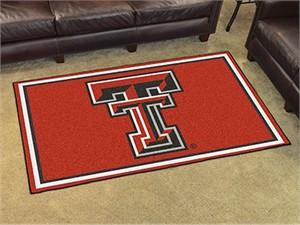 Texas Tech University Floor Rug - 4x6