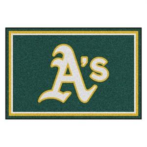 Oakland Athletics Floor Rug - 5x8