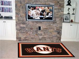 San Francisco Giants Floor Rug - 4x6