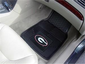 University of Georgia Heavy Duty Car Mat Set - G Logo
