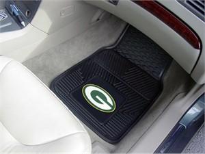 Green Bay Packers Heavy Duty Car Mat Set