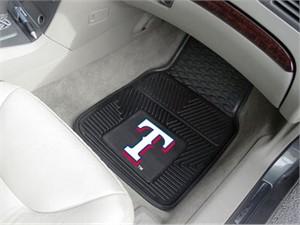 Texas Rangers Heavy Duty Car Mat Set