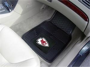 Kansas City Chiefs Heavy Duty Car Mat Set