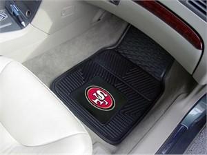 San Francisco 49ers Heavy Duty Car Mat Set