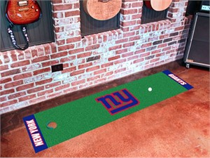 New York Giants Golf Putting Green Mat