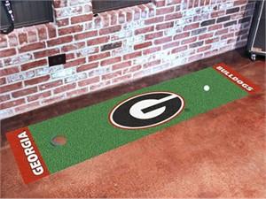 University of Georgia - G Logo Golf Putting Green Mat