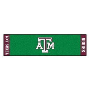 Texas A&M University Golf Putting Green Mat