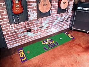 Louisiana State University Golf Putting Green Mat
