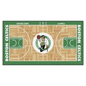 Boston Celtics Basketball Large Court Runner Rug