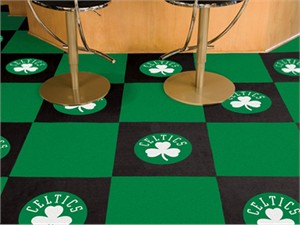 Boston Celtics Carpet Tiles