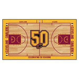 Cleveland Cavaliers Basketball Large Court Runner Rug