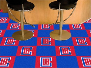 Los Angeles Clippers Carpet Tiles