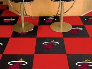 Miami Heat Carpet Tiles