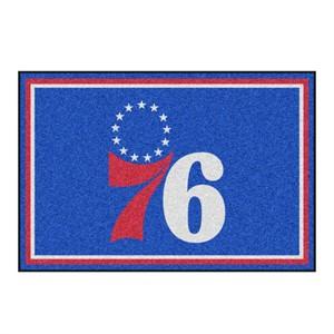 Philadelphia 76ers Floor Rug - 5x8