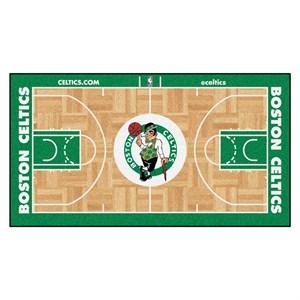 Boston Celtics Basketball Court Runner Rug