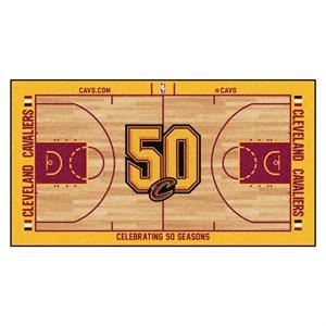 Cleveland Cavaliers Basketball Court Runner Rug