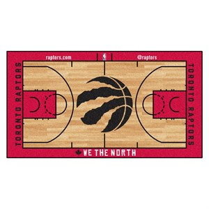 Toronto Raptors Basketball Court Runner Rug