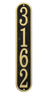 Personalized Fast & Easy Vertical Address Plaque
