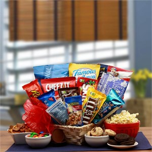 Favorite Snacks Gift Basket