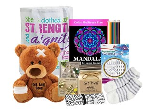 Feel Better Get Well Gift Tote