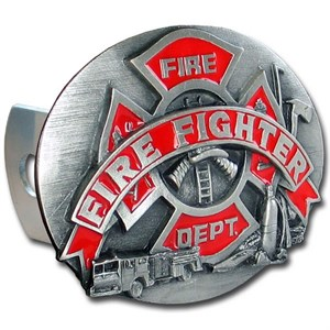 Fire Fighting Trailer Hitch Cover