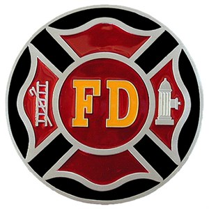 Firefighter Logo Hitch Cover