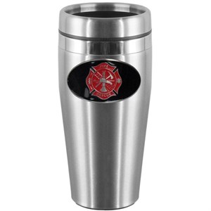 Firefighter Steel Travel Mug