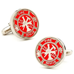 Firemens Shield Cufflinks