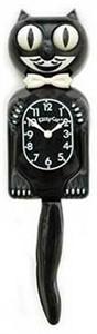 Kit Cat Clock - 3/4 Black