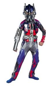 Child Deluxe Optimus Prime Transformers Costume