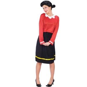 Adult Olive Oyl Halloween Costume