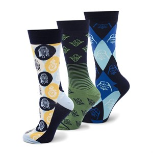 Galaxy Favorites 3 Pair Socks Gift Set