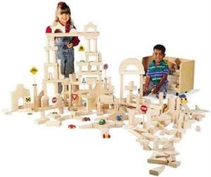 GuideCraft Unit Blocks - 390 Piece Set
