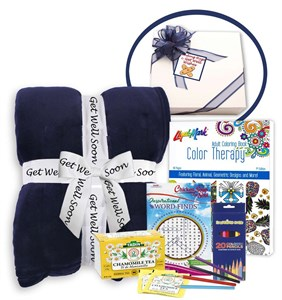 Get Well Soon Gift Set of Thoughtfulness & Comfort