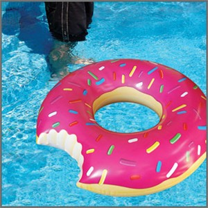 Giant Donut Pool Float