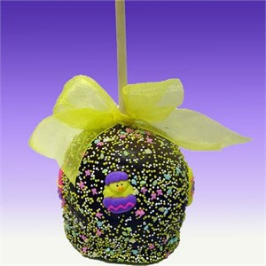Giant Easter Chocolate & Caramel Apple