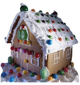 Ginger Bread House Cardboard Cutout