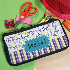 Girls Personalized Pencil Pouch