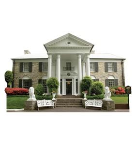 Graceland Mansion Cardboard Cutout
