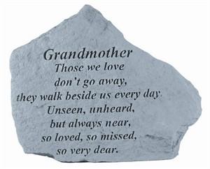 GRANDMOTHER Those we love…Memorial Stone