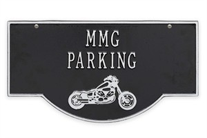 Personalized Hanging Motorcycle Plaque - 2 Side