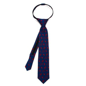 Harry Potter Navy Boys' Zipper Tie