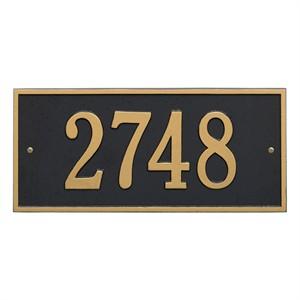 Personalized Hartford Address Plaque - 1 Line