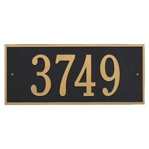 Personalized Hartford Large Address Plaque - 1 Line